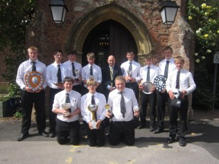 Brymore Boys receive their awards